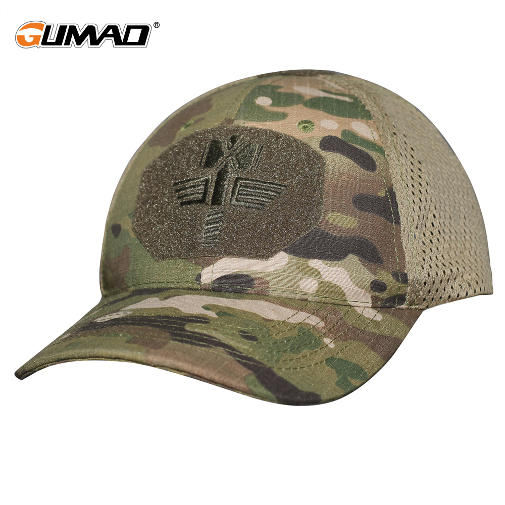 Multicam CP Camo Outdoor Tactical Baseball Cap Military Hunting Hiking Mesh Hat