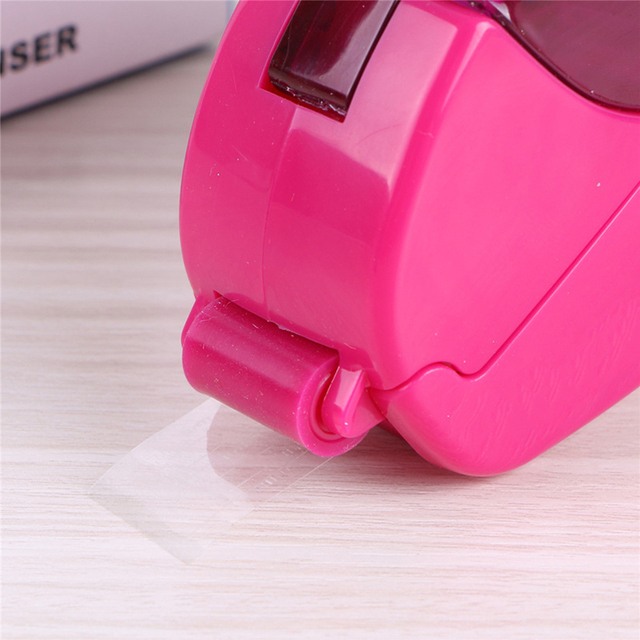 12/19mm One Press Auto Tape Dispenser Hand-held Intelligent Automatic Tape Dispenser Cutter Adhesive Holder Packaging Cutter 4
