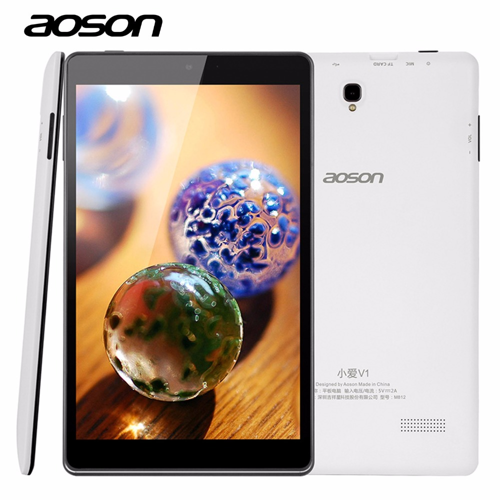 New Design 8 Inch Android 5 1 PC Tablets M812 1GB RAM 16GB ROM A33 Quad