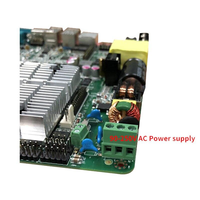 100% carte principale Quad Core Intel Celeron J1900 bien testée pour ATM et Machines publicitaires et système de point de vente