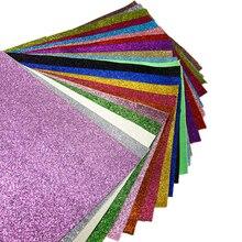Дэвид Энджи 34*20 см Сверхтонкий блеск ПВХ ткань синтетическая кожа ткань, сделай сам волосы луки обувь сумки аксессуары материалы, 1Yc1947
