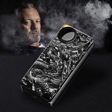 Double Arc Lighter Metal Dual Fire USB Electronic Cigarette Charging Windbreak Dragon Lighters