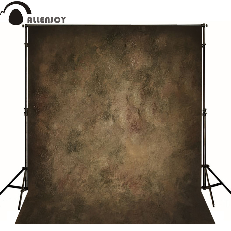 Allenjoy Thin Vinyl cloth photography Backdrop Dark gray Computer Printing Background for Wedding Photo Studio Pure Color MH-043