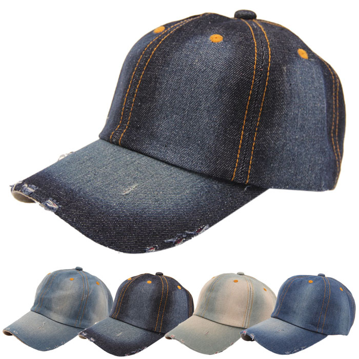 25c9b604123 ... Men s Women s Jean Hats Sport Hat Casual Denim Baseball Cap Sun Hat  Gorras. picture