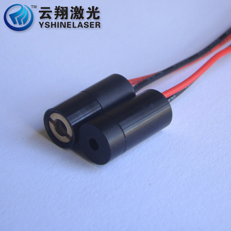1mW 650nm Red Light Laser Module, Small Power Red Dot Positioning Laser Transmitting Tube, Industrial Grade Red Lamp super small spot high quality glass lens 5mw 650nm red laser module point aiming laser