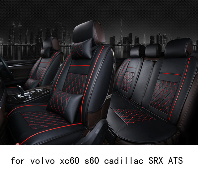 Brilliant Us 94 95 Ouzhi Easy Clean Firm Grid Pu Leather Car Seat Cover For Volvo Xc60 S60 Cadillac Srx Ats Front Rear Universal Seat Covers In Automobiles Uwap Interior Chair Design Uwaporg