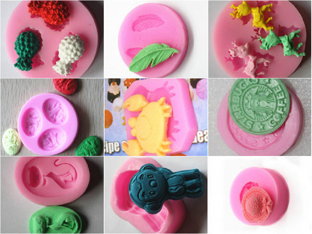 Wholesale Retail Free Shipping 1 Piece Mini Pudding Jelly Silicone
