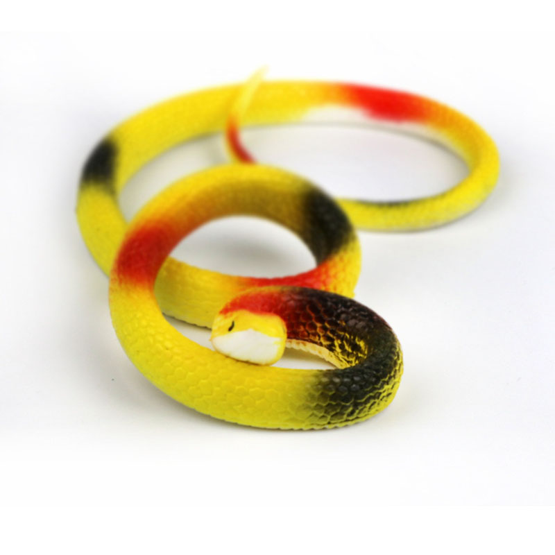 Tricky-Toys Animal-Toy Stall-Selling-Toys Snake Simulation-Simulation Rubber Scare The