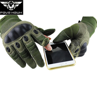 Hiking Full finger gloves mountain Military Tactical Cargo Cycling Breathable Touch screen Non slip Bicycle Men Women Bike Glove
