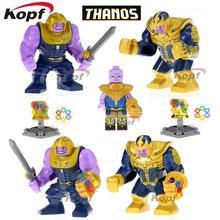 Única Venda Infinito Guerra 3 Figuras Super Heróis Vingadores Thanos Spiderman Thor Homem De Ferro Modelo de Blocos de Construção Crianças Brinquedos de Presente