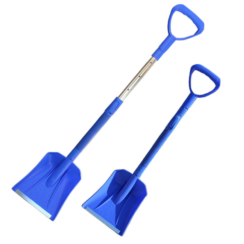 Ice Scraper Telescopic Removal and Removal of Snow Shovel with EVA Stainless Steel Handle Snow Shovel Car Wash Maintenance
