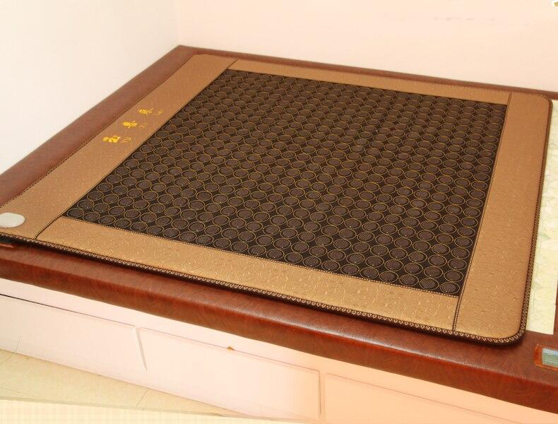 Korea Best quality Free shipping Good Jade heat mattress Infrared heating health care mat heat ac220V 1.0X1.9M good quality x prog m 5 0 free shipping