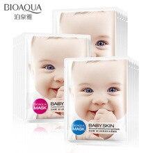 BIOAQUA 1 Piece Whole Snail Essence Liquid Wrapped Mask  Moisturizing Depth Replenishment Unisex Skin Care Cosmetic