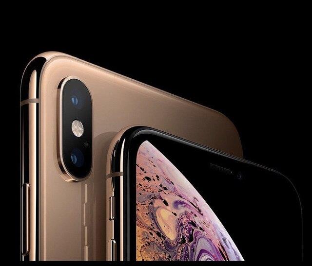 "Apple iPhone XS 5.8"" RAM 4GB ROM 64GB/256GB/512GB Original Mobile Phone LTE Hexa Core 12MP+12MP IOS12 Face ID NFC A12 Bionic 1"