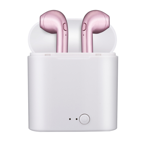 Hot Sell i7s TWS Wireless Headphones Bluetooth Earphone Stereo Earbud Headset With Charging Box For iphone Android phone