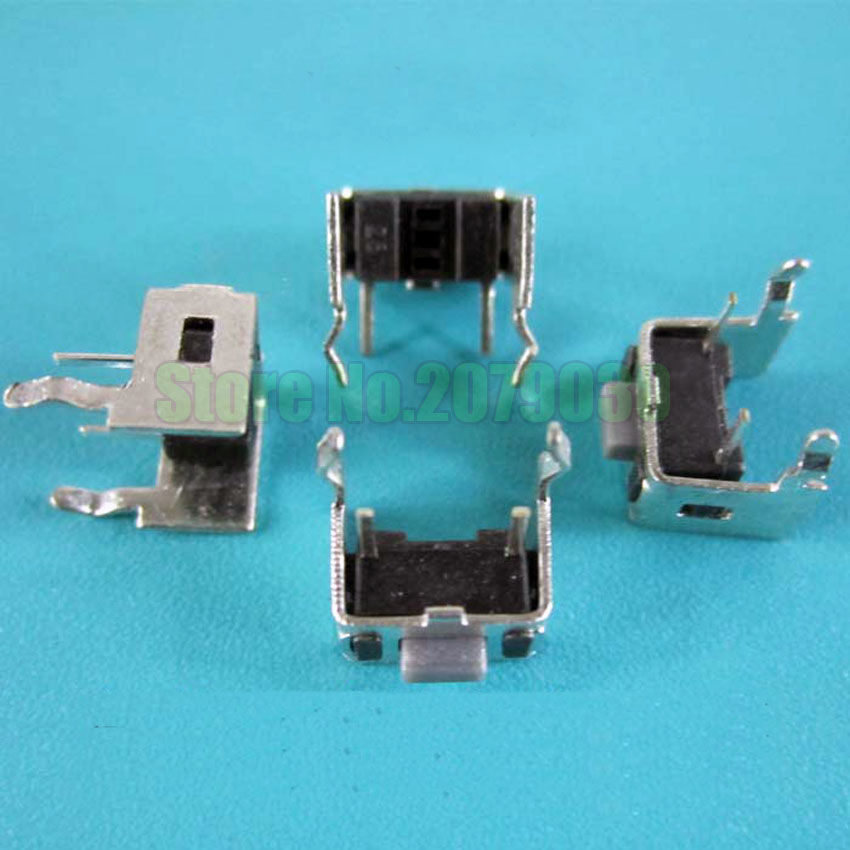 Lights & Lighting Flight Tracker 50pcs/lot 3*6*4.3mm 4.5 3x6x5 Push Tough Switch Button Small Switch With Metal Frame Buttons For Interphone Talkie Intercom Fragrant Aroma