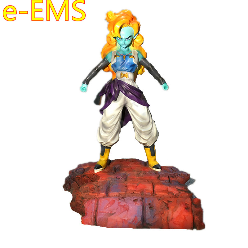Dragon Ball Z Bojack Heeler Villain Zangya 1/6 Resin Statue Decoration Action Figure Model Toy G2280