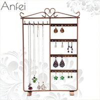 Stainless Steel Multi Functional Jewelry Holder Earring Jewelry Display Earring Pedestal Stand For Jewelry Display Holder