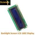 3,3 В синий экран белый персональный модуль lcd Синяя подсветка экран lcd 1602 дисплей для электронных DIY LD002 - фото