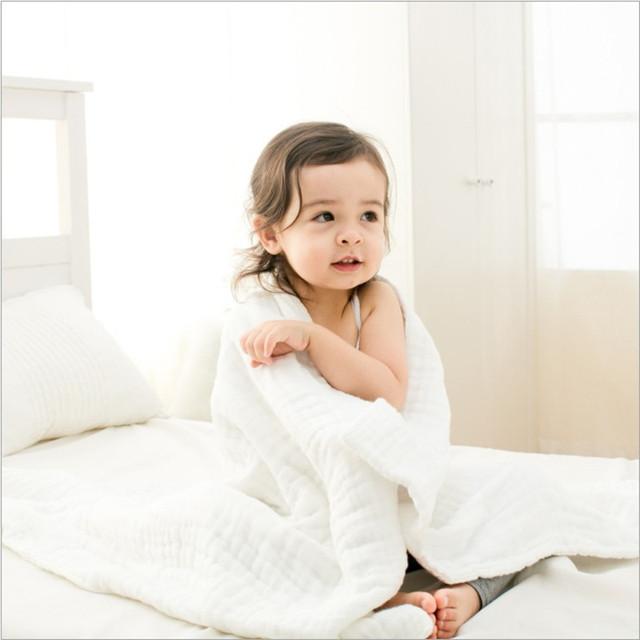 Toalhas de Banho do bebê 100% Algodão Gaze Sólida Novo Bebê Nascido Forte Absorção de Água toalhas Ultra Macio 1 Peça de 90*120 cm Livre grátis