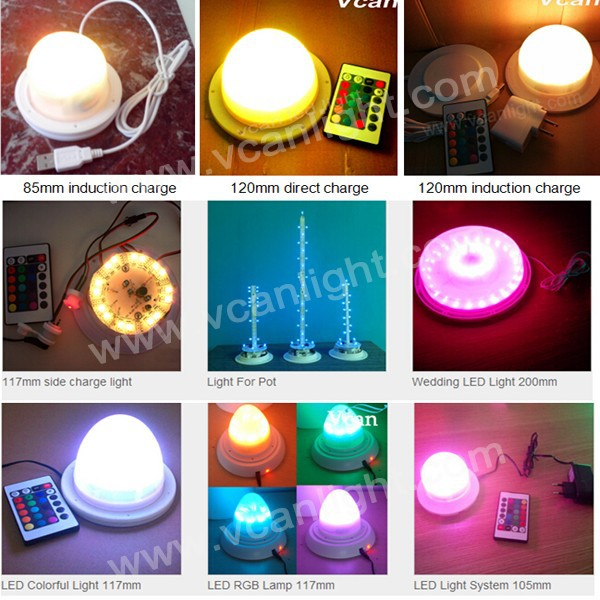 2 Super Bright RGB Led Light Source For Led Furniture Cube Ball Bar
