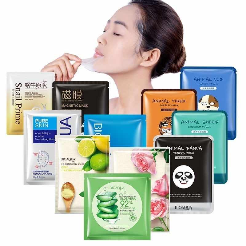 Soins de la peau masque visage feuilles décoller hydratant Anti-rides point noir dissolvant enveloppé masque rétrécissement Pores masque Facial