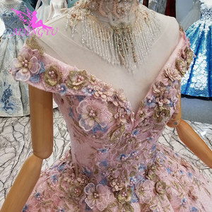 Image 4 - AIJINGYU Where To Buy Sexy Dresses Real Newest Lace German Bridal Cheap Beautiful Elegant Gowns Wedding Dress Sleeve