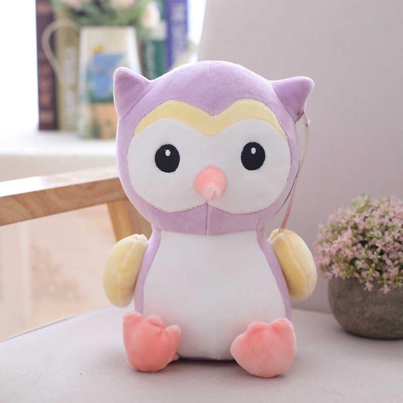Cozfay Бесплатная Прямая доставка 1 шт. милая плюшевая сова кукла чучела Сова животные игрушки украшение детская игрушка