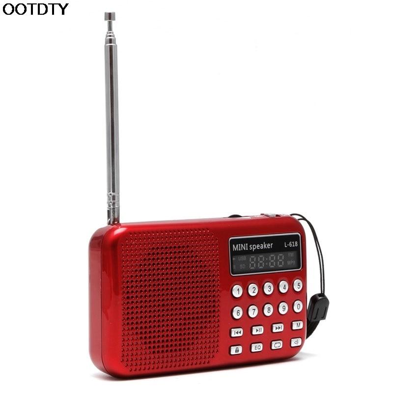 Trendmarkierung Mini-lcd Digital Audio Fm Radio Lautsprecher Usb Micro Sd Tf Karte Mp3-player # L060 # Neue Heiße Lassen Sie Unsere Waren In Die Welt Gehen Radio