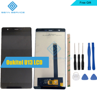 For Original Oukitel U13 LCD Display Touch Screen Digitizer Assembly Tested 5 5 Inch U13 Android
