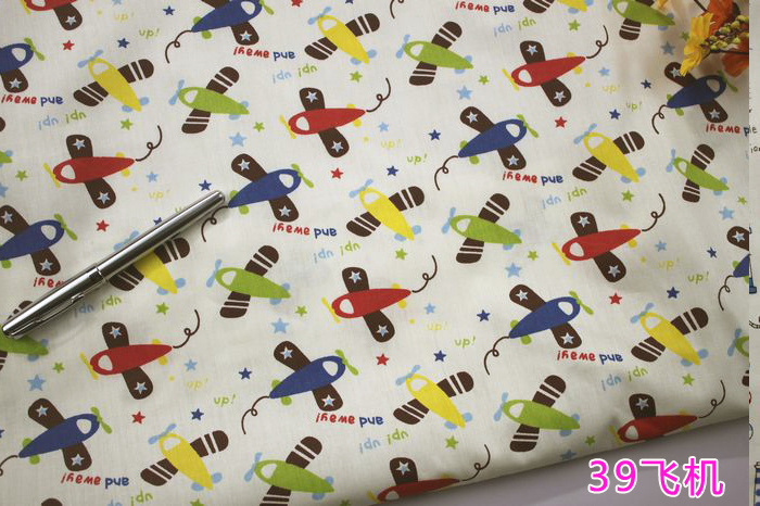 Compare prices on airplane print fabric online shopping for Childrens airplane fabric