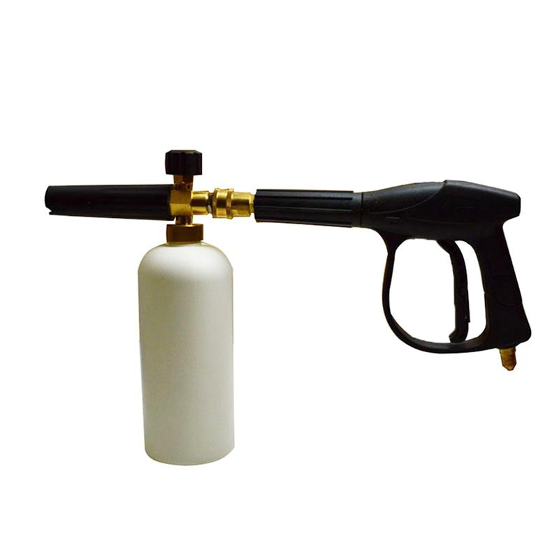 Car Jet Wash Gun Quick Release Adjustable Snow Foam Nozzle Cannon High Pressure Gun for 12mm Nilfisk Stihlep Washer Car