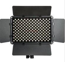 S192T 50 W Slim Dimmable LED וידאו טבעת אור פלאש עבור Canon nikon pentax camera ירי YouTube וידאו מופע חי