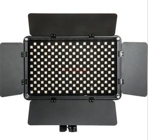 Image 1 - S192t 50 w 슬림 디 밍이 가능한 led 비디오 링 플래시 라이트 캐논 니콘 pentax 카메라 촬영 youtube 비디오 쇼 라이브