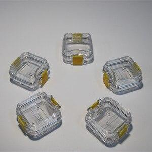 Image 3 - 70 unids/lote caja de dientes dentales de alta calidad con película almacenamiento para dentadura caja membrana contenedor para dientes funda, soporte