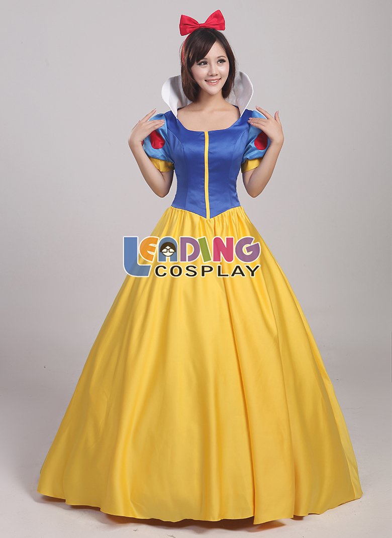 Online Shop Custom Made Snow White Princess Dress Snow White ...