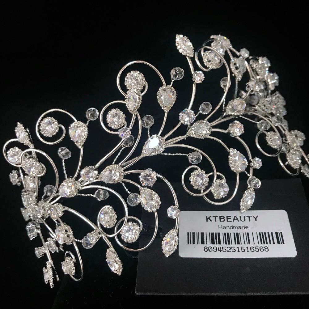 News Rhinestone Zirconna Big Tiara Silver Tiara Fashion Headpieces Royal Bridal Wedding Dressing Crown Accessory Women Jewelry-in Hair Jewelry from Jewelry & Accessories on Aliexpress.com   Alibaba Group