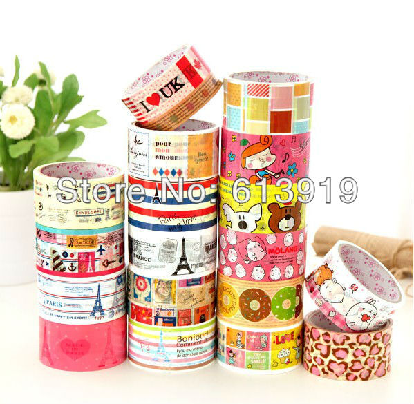 printed adhesive diy tape cartoon design promotion size 48mm*15m - DIY Decoration Sky store