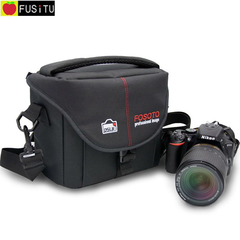 Fusitu 2018 New Photographer Waterproof Camera Video Bag Case for Canon Nikon Olympus Sony Pentax Samsung Panasonic DSLR Camera