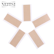 Neitsi 4cm*0.8cm Double Sided Germany Adhesive Tape For Skin Weft Hair Extensions Super Adhesives Fast Shipping