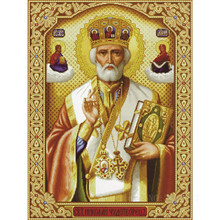 Diamond Mosaic Diy 5D Embroidery King Of The Bible Painting Cross Stitch Floral Rhinestone Decoration Stickers