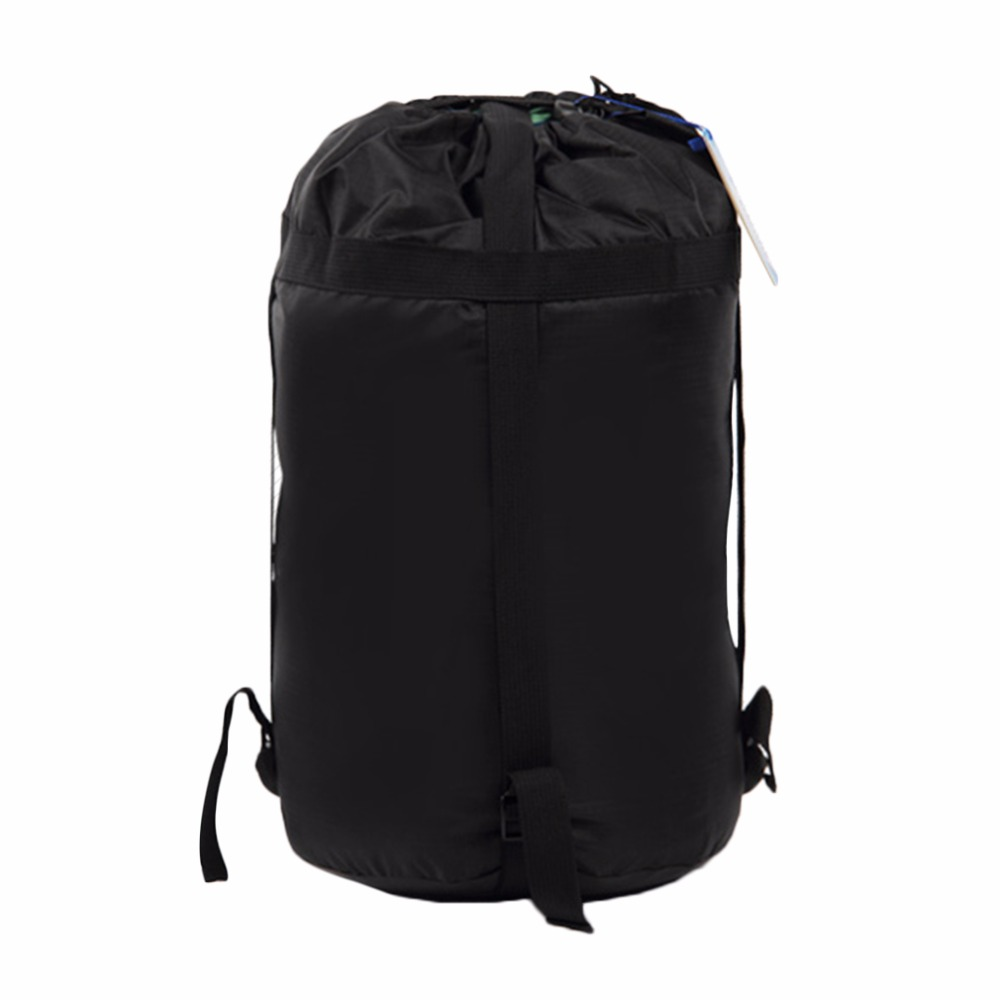 Lightweight Black Compression Stuff Sack Bag Storage Clothing Rafting Sack Outdoor Hiking Travel Camping Drifting Equipment Hot