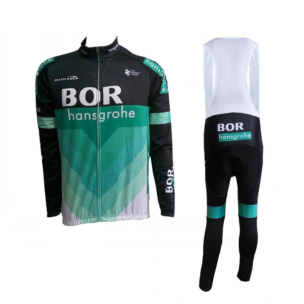 winter thermal fleece 2018 pro tour team cycling jerseys long sleeve warmer bike clothing MTB Ropa Ciclismo Bicycle maillot set hot cheji men bike long jersey pants sets hornets black pro team cycling clothing riding mtb wear long sleeve shirts