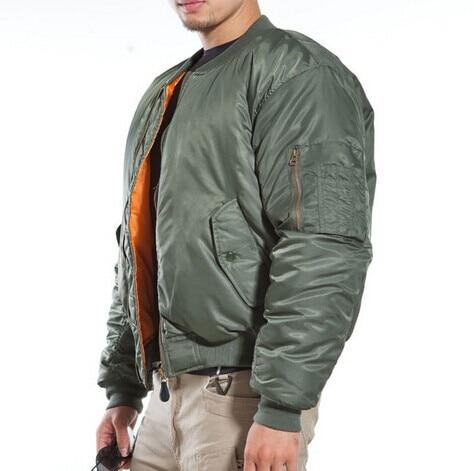 Alfa chaqueta táctica militar para hombres vuelo MA 1 Light chaqueta  cremallera impermeable (OD verde gris BK) en Chaquetas de senderismo de  Deportes y ocio ... c68d88b39972c
