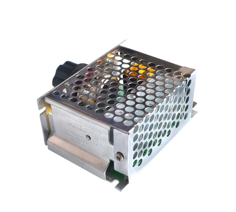 4000W 220 V Ajuste SCR Voltage Regulator Controle De Velocidade Do Motor Dimmer Termostato