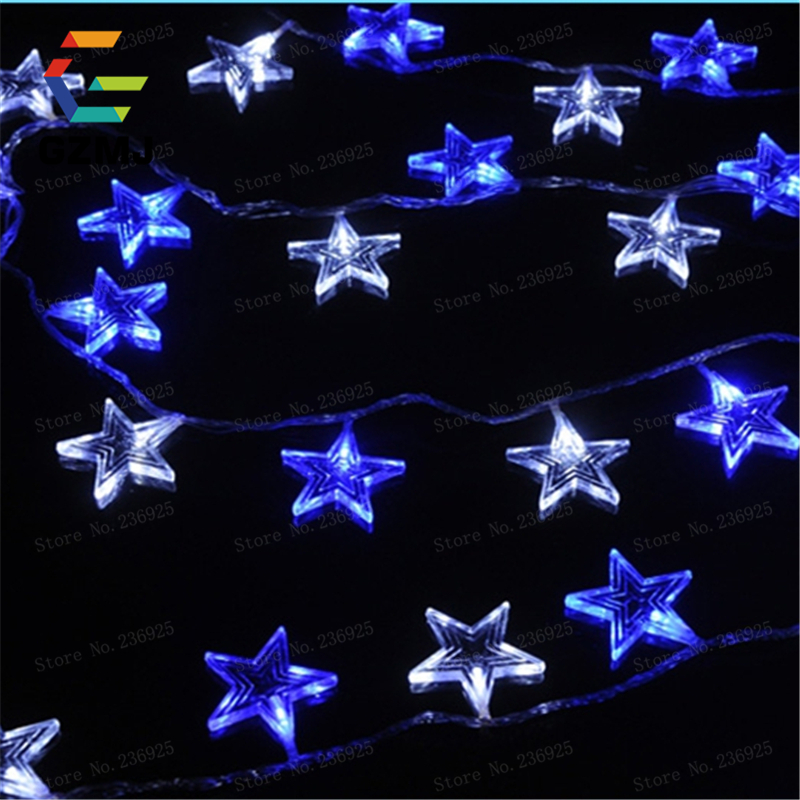 10M 80 LED String Fairy Light AC220V Waterproof Outdoor Colorful Led Xmas Christmas Light For Wedding Christmas Party Holiday