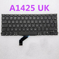 "free shipping Laptop UK Keyboard for MacBook Pro Retina 13"" A1425  MD212, MD213 UK Keyboard 2012 year"