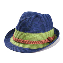 c13d256754a BUTTERMERE Summer Sun Hat Women Straw Hat Female Linen Panama Hat Blue  White Striped