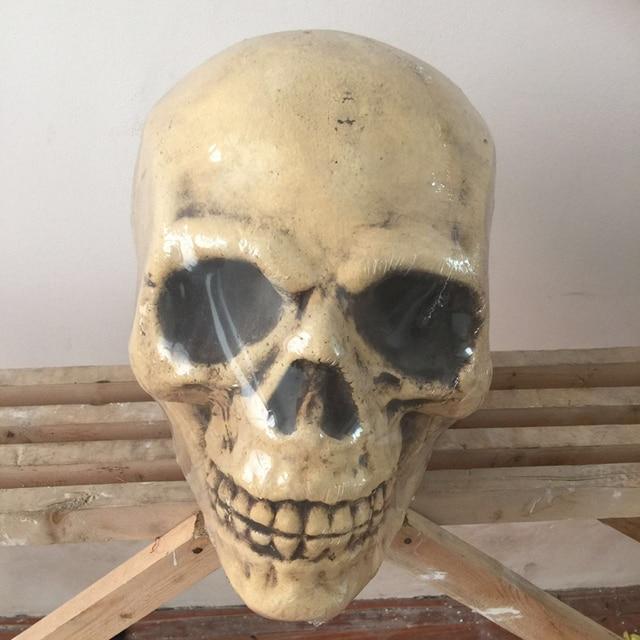 halloween skull halloween decorations holiday props halloween props realistic skull haunted house ideas party yard - Halloween Skull Decorations