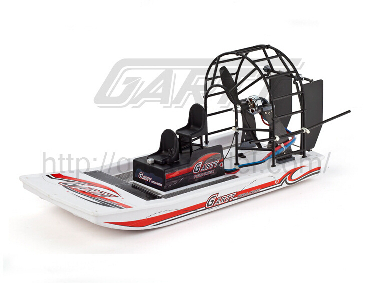ФОТО F11133 GARTT High Speed Swamp Dawg Air Boat without Electric Parts Remot Control Two Channels